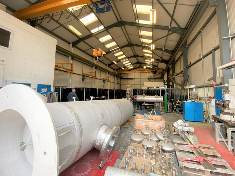 CPE-pressure-vessels-stainless-steel-316-hydrogen-tamworth facility