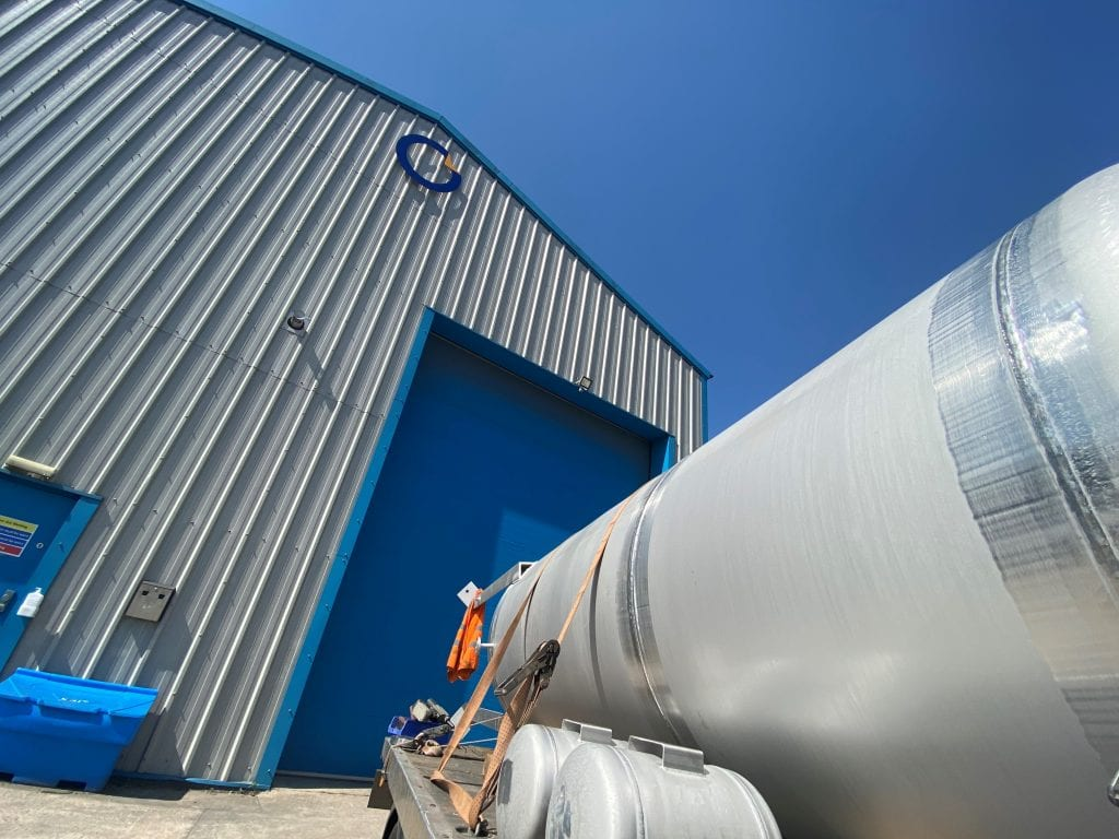 Water Vessels DWI-Pressure-vessel-stainless-steel-316 - tamworth facility