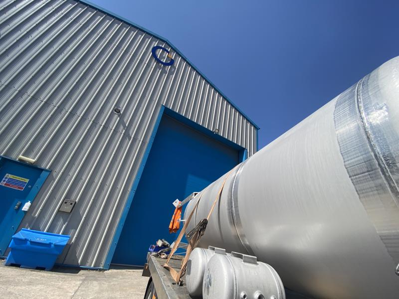 stainless steel surge tank hseq