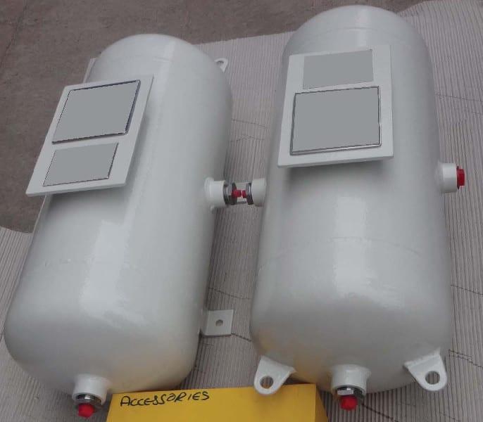 CU TR & ASME U Stamped Air Receiver 35-litre-stainless-steel-316