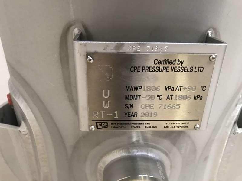 CU TR certified Pressure Vessel 316 ASME U STamp