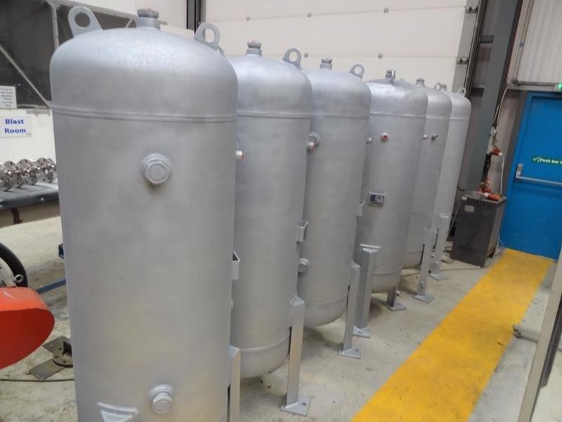 Air-Receiver-carbon-steel-CPE-Pressure-Vessels-UK