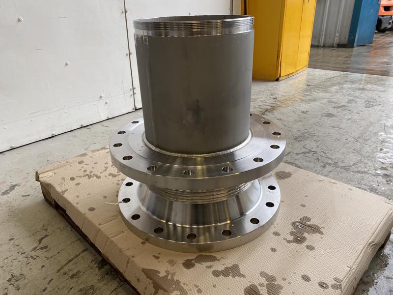 Duplex-UNS S31803-Nozzle-insert-bespoke-pressure-vessel