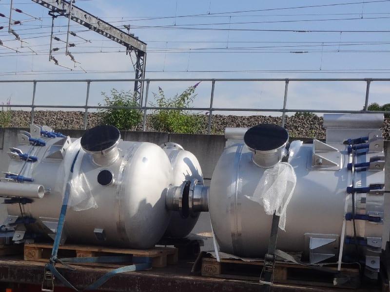 Sea Water Absorption Vessel - Duplex 4
