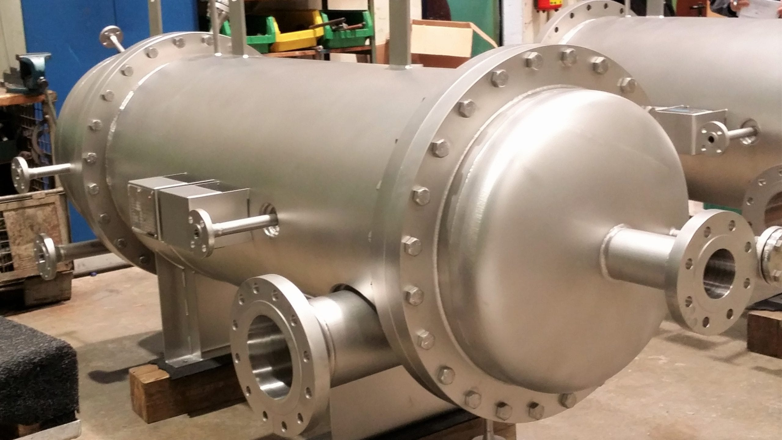 Steam Jacketed Pressure Vessel-stainless-steel-304