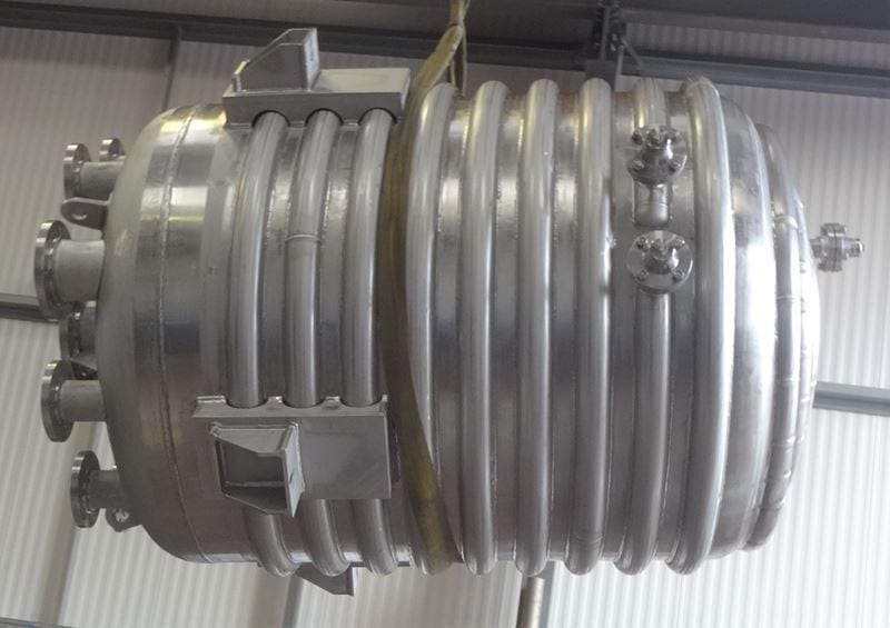 Reactor Vessel With Limpet Coil Jacket Pressure Vessel Stainless Steel CPE-316-reactor-vessel (12)