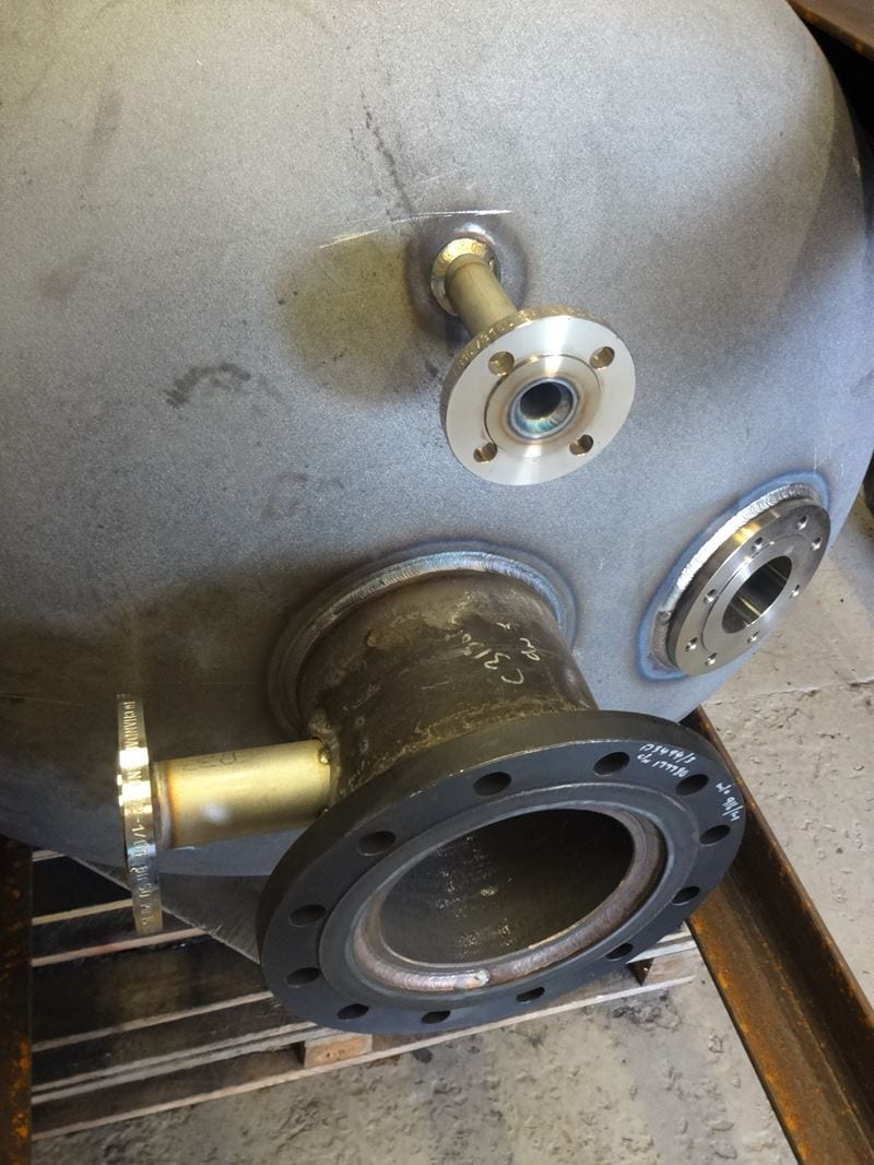Pressure-Vessel-EN13445-DWI-Carbon-Steel-Surge-Tank-water-CPE-UK (4)