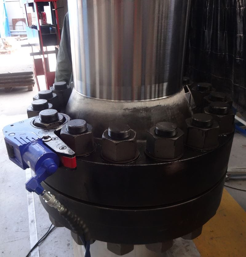 Flanged Closure for Nuclear Application Pressure-vessel-nuclear-forging-welding-105-CPE (6)