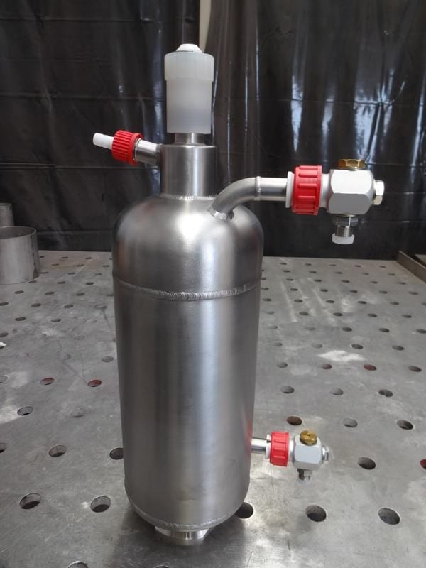 Stainless-steel-polished-jacketed-pressure-vessel
