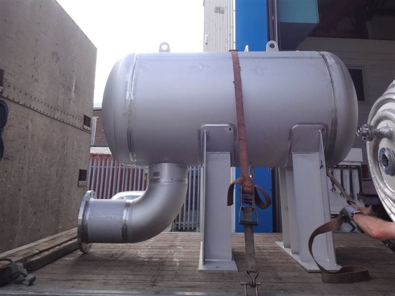 Stainless Steel Surge Tank with large process