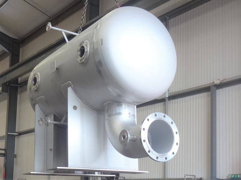 Stainless Steel Surge Tank manufactured by CPE