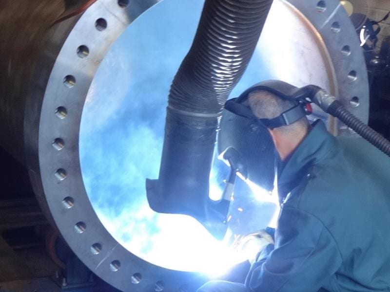Welding-thick-flange-cpe-pressure-vessels