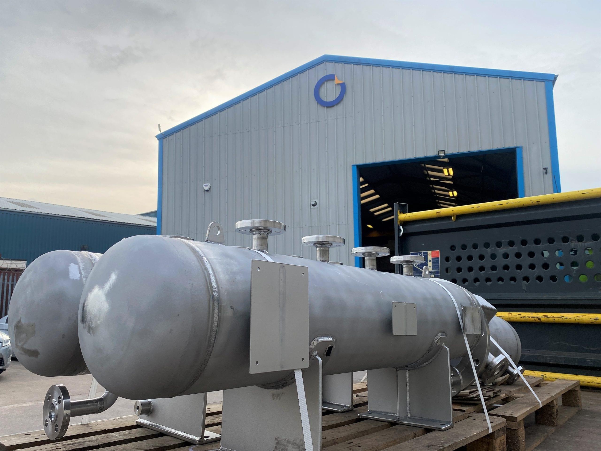 Hastelloy C22 Pressure vessel designed to EN13445