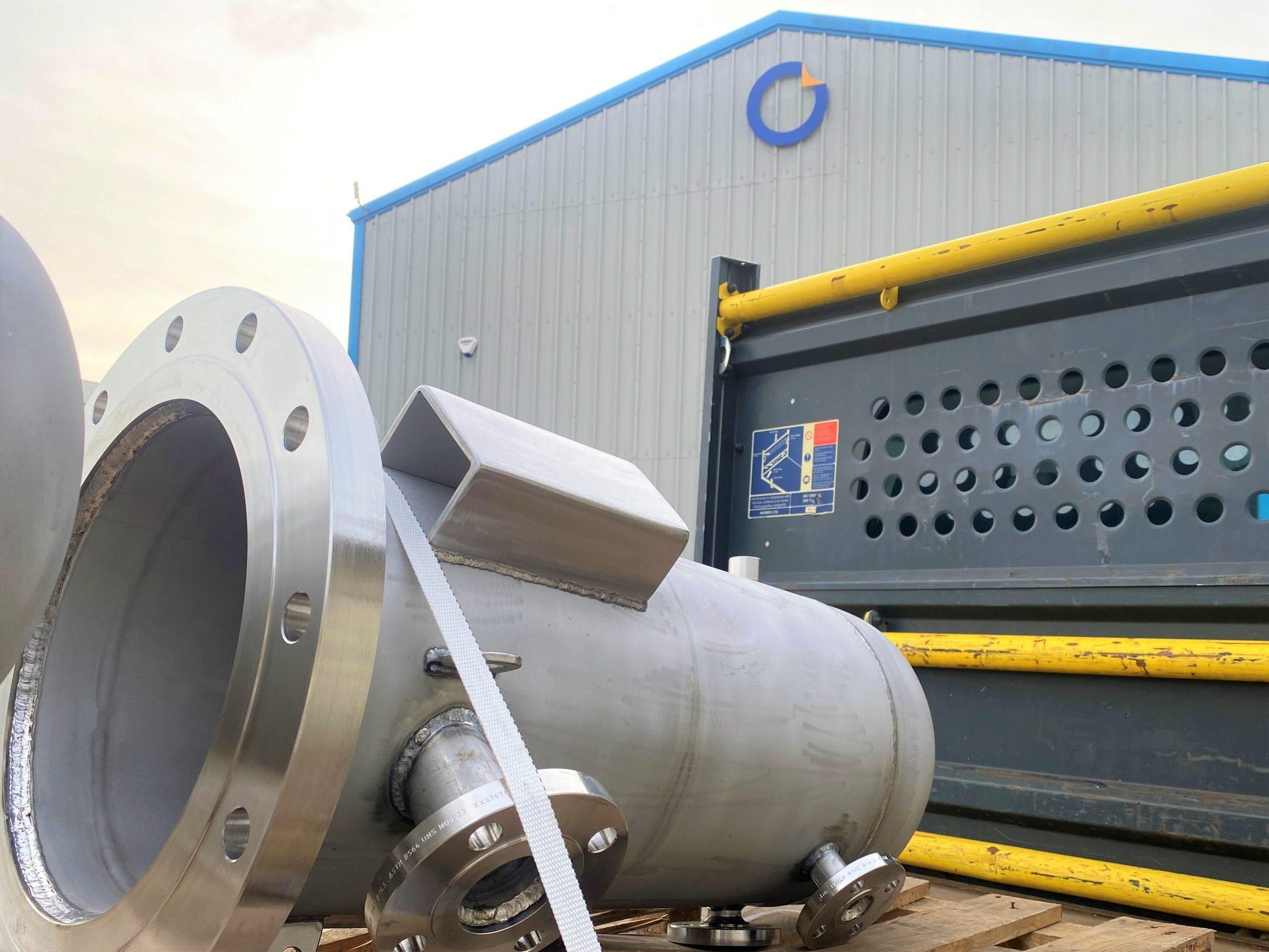 Hastelloy C22 Pressure vessel