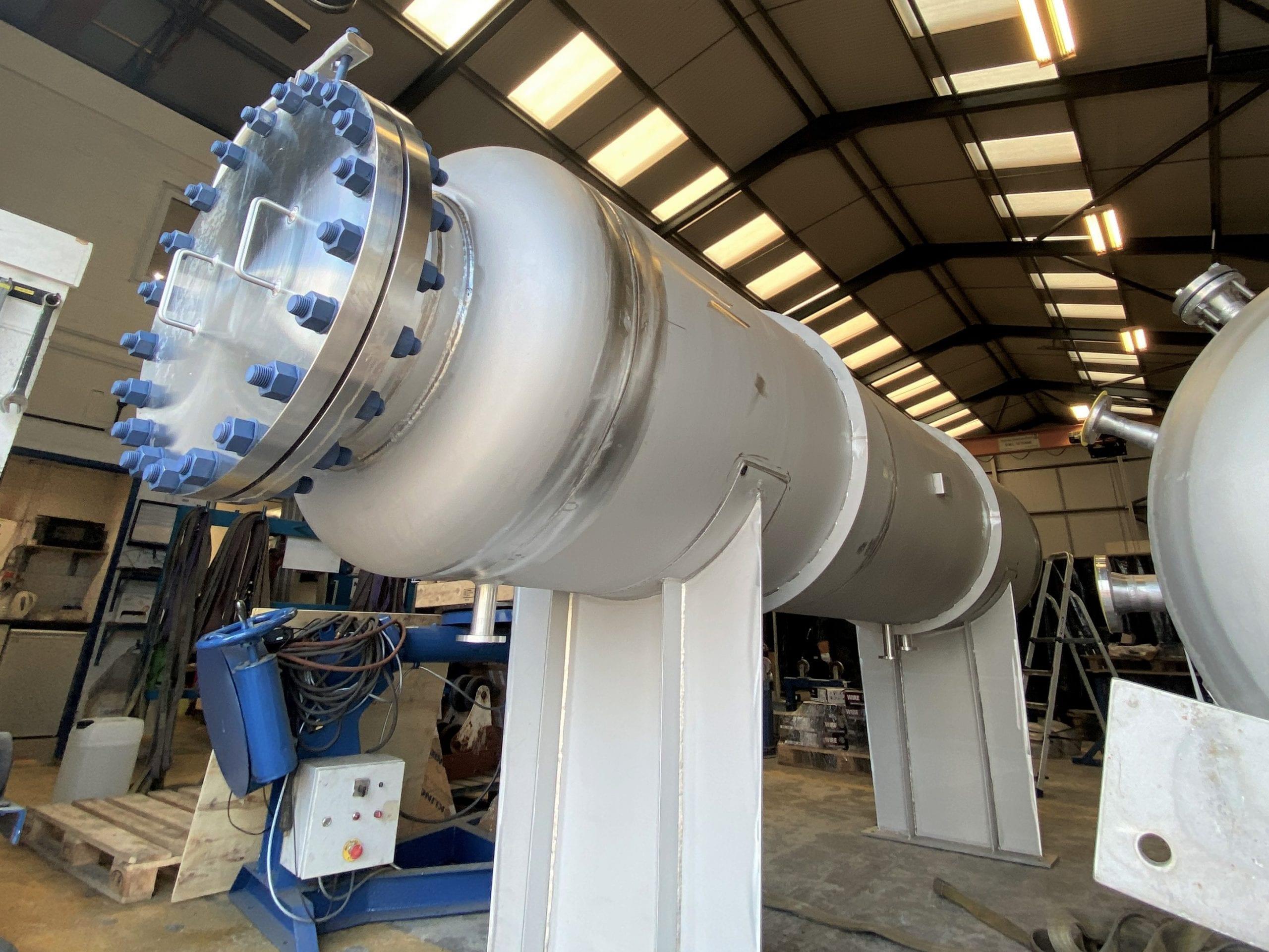 Stainless Steel 316 Filtration Vessel