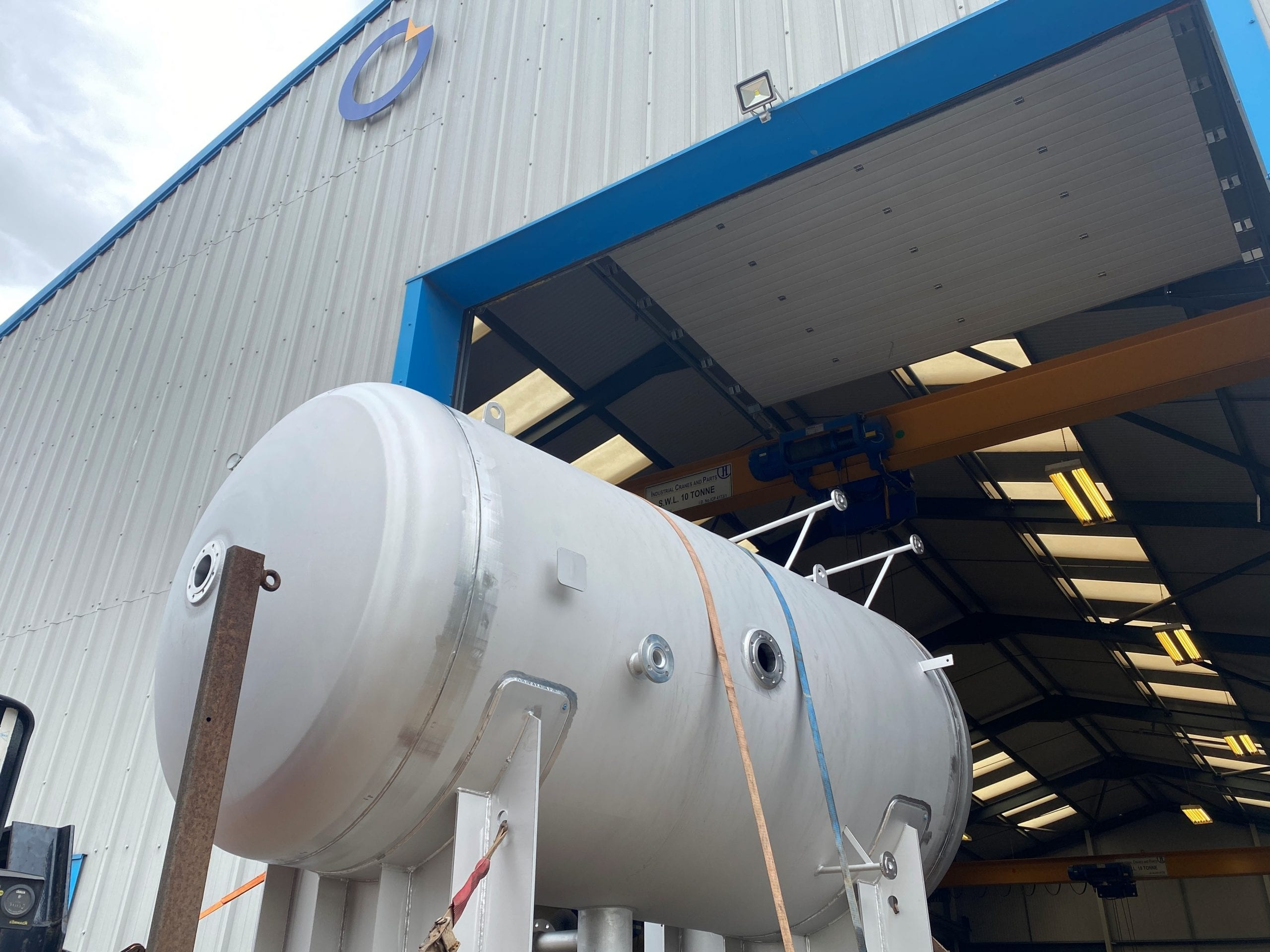 stainless steel surge vessel to DWI regulations