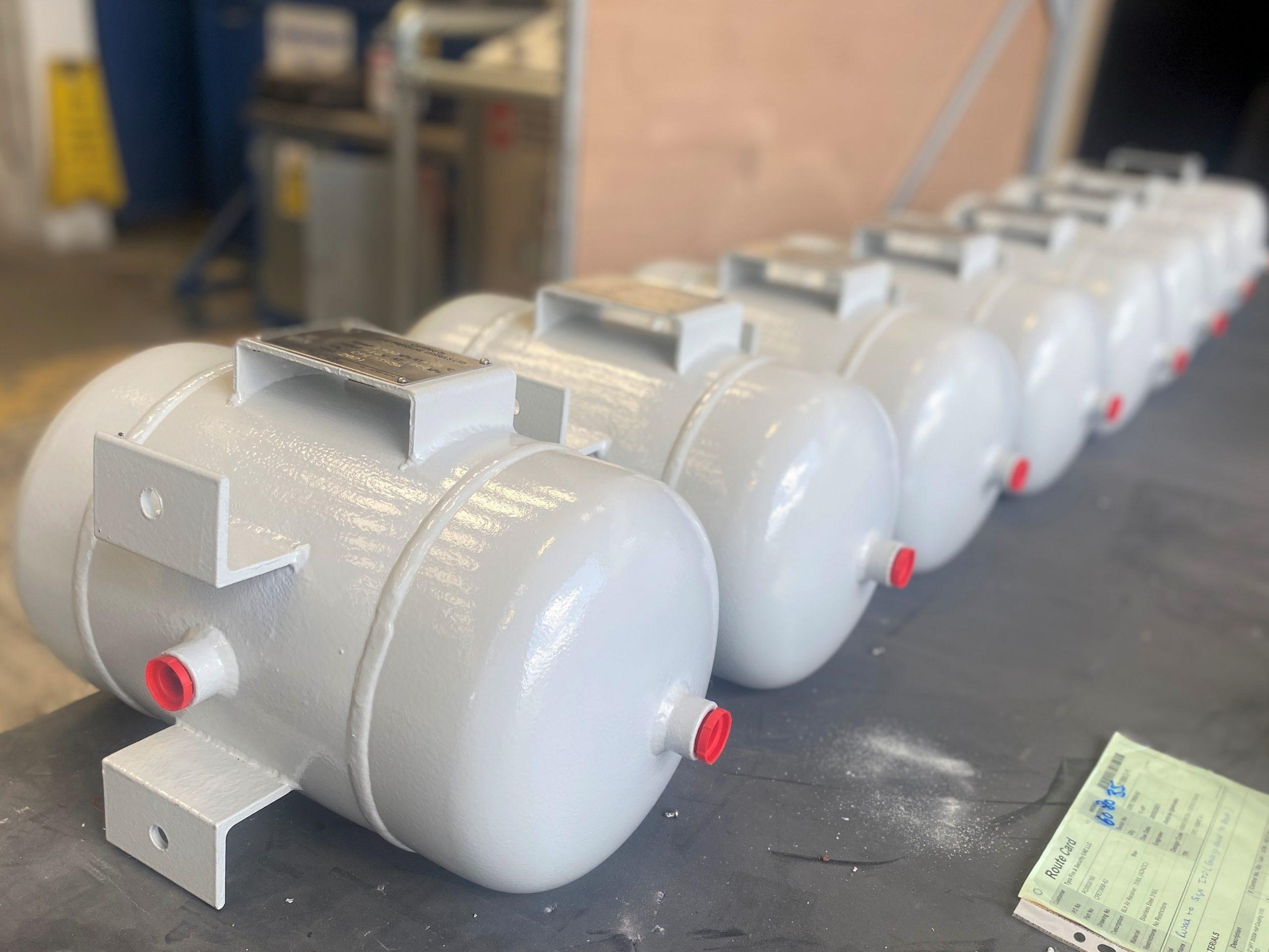 Stainless Steel ASME U Stamp Air receiver Pressure vessel