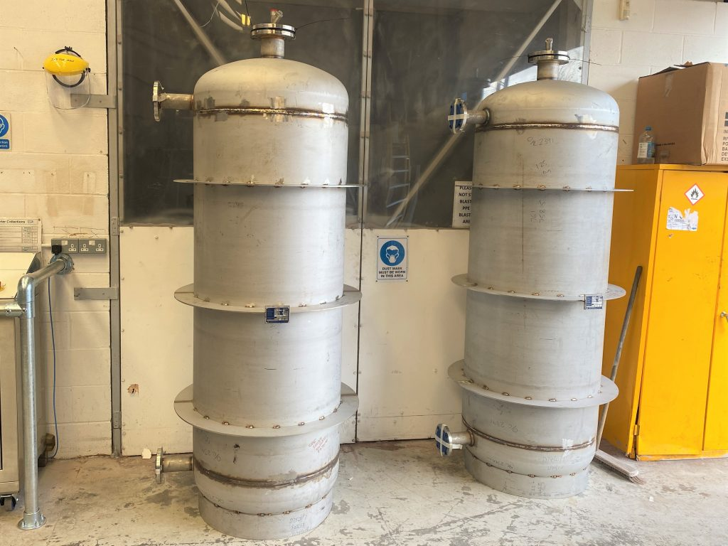 1000 Litre Pressure vessels Stainless steel
