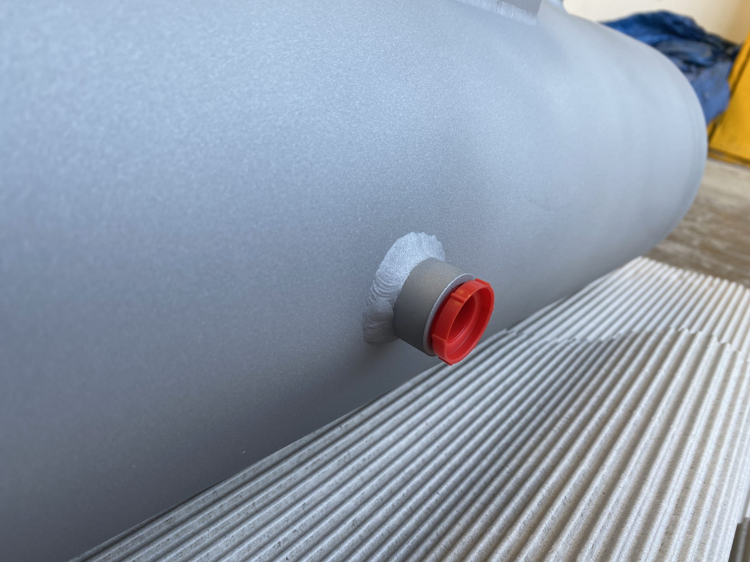 Hydrogen Pressure Buffer vessel made from stainless steel 316 for the clean energy industry
